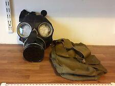 Siebe Gorman 70s Post War Civilian Duty Respirator Gas Mask+Bag Steampunk Sci-Fi