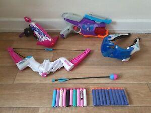 Nerf Rebelle Secrets Spies bundle spylight pink crush wingspeed + bullets 14.99p