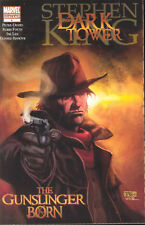 Dark Tower Gunslinger Born #4 2nd Printing Tan Variant Stephen King 2007 Marvel