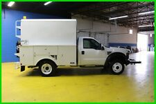 2008 Ford F550 WHITE Used utility truck