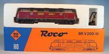 Roco H0 43522 Diesellok V 200 035 der DB geprüft in OVP #6634