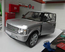 Range Rover L322 TD6/4.4 V8 Silver HSE Vogue Very Detailed Welly Diecast Model