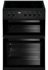 Beko KTC611K Electric Cooker - Black