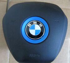 2013 2014 2015 2016 BMW I3 DRIVER WHEEL AIRBAG BLACK OEM  32306870364
