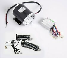 500 W 24 V DC electric motor T8F kit w base speed control & Throttle f scooter