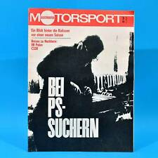 DDR Illustrierter Motorsport IMS 3/1972 MZ Simson Puch MC 125 175 Monte Carlo