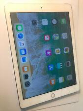 Apple iPad Air 2 16GB, Wi-fi-Blanco y Plateado A1567 pantalla grietas