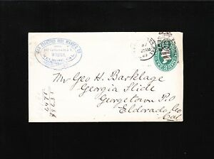 San Francisco FUSE Mfg Co Mine Related? 1889 Ellipse Duplex #9 Cover PSE 2y