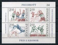 Svezia/Sweden  1986 bf 14 sport atletica mnh