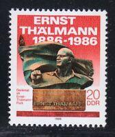 East Germany DDR 1986 MNH Sc 2537 Ernst Thalmann ** Mi 3014 **