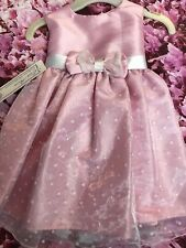 Gorgeous Girls Couche Tot Pink Party/Special Occasion Dress Age 0 - 6 months