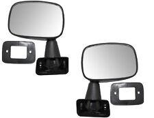 79 80 81 82 83 Toyota Pickup Left & Right Black Manual Mirror Pair L+R