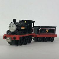 Thomas the Train Donald Tank Engine with Tender Diecast Friends Take Play Rare 9