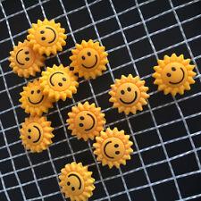 3PCS Cute Sunflower Tennis Racquet Vibration Dampener Shock Absorber Tool Pro