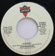 Pop 45 Bananarama - Ecstasy / Love In The First Degree On London Records