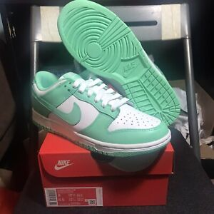 (DS) Nike Dunk Low Green Glow Size 8W 100% Authentic
