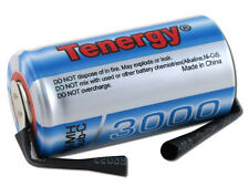 Tenergy Propel Sub C 3000mAh NiMH Rechargeable Battery Flat Top w/ Tabs