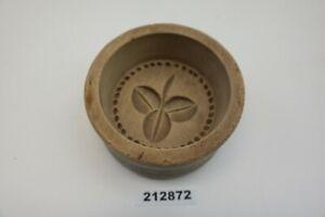 alt Butterform Blatt rund Sturzform antik 9,5 cm #212872