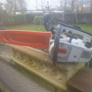 Stihl top handle saw