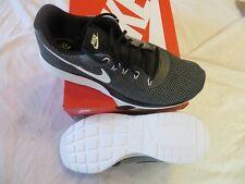 Nike Tanjun Racer Men's Running Shoes Sz 10.5 Dark Grey/White-Black Retail $70