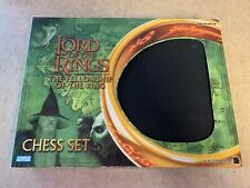 2002 Lord of the Rings Fellowship of the Ring Chess Set used Great Shape!