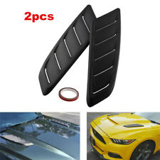 2x Auto Car Simulation Air Flow Decorative Intake Hood Scoop Bonnet Vent Cover