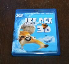 Ice Age: Continental Drift 3D (Blu-ray Disc, 2012, Canadian)