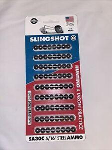 Slingshot 5/16 inch steel ammo