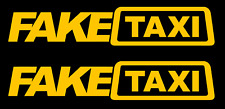 Fake Taxi Vinyl Decal, Bumper Sticker, Jdm, Faketaxi, Cab, Car, Windows, Outdoor