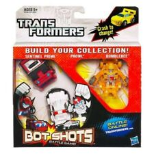 Transformers Bot Shots Triple Pack Sentinel Prime Prowl & Bumblebee Figures