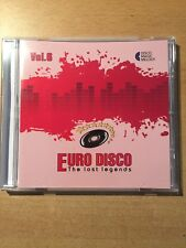 CD Euro Disco -The Lost Legends vol.6 (Lim. Edition: only 100 copies worldwide)