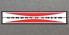 Gordon & Smith G&S CLASSIC BAR Sticker LARGE 10in