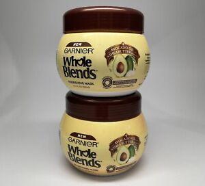 Garnier Whole Blends Avocado Oil & Shea Butter Nourishing Mask-2 Pack 10.1oz