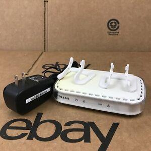 NETGEAR Broadband ADSL2+ Modem DM111PSP V2 With Ac Adaptor