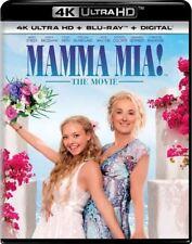 MAMMA MIA  (4K ULTRA HD) - Blu Ray -Region free