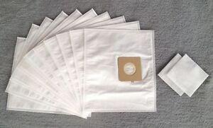 10 Staubsaugerbeutel + 2 Filter für Menalux 4900, Staubbeutel Filtertüten