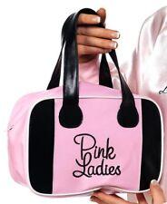 Pink Ladies Bowling Bag Ladies Grease Movie Licensed Fancy Dress Accessory