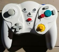 Third Party White Wireless Gamecube Controller, TESTED w/ Reciever