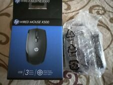Wired Computer mouse X500, 800dpi-black-3 buttons.