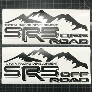 SR5 4X4 Off Road Decal For Toyota Trucks 2 Pcs, Sticker Window Laptop graphics