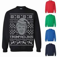 Donald Trump Trumpaclaus Ugly Christmas Sweater Christmas Sweatshirt