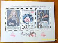 EBS Czechoslovakia 1986 FIP 60th Anniversary Praga Stamp Show - Block 67A MNH**