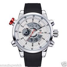 Weide Original Imported White Dial 3401 Analog & Digital Mens Wrist Watch