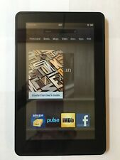 Amazon Kindle Fire Model D01400 6GB 7in Tablet Black