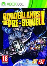 borderlands the pre-sequel xbox 360. nuevo precintado pael EU aleman.