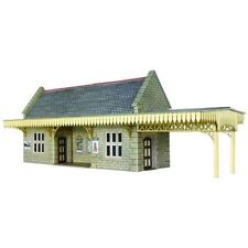 Metcalfe PO239 Wayside Stone Built Station Shelter Die Cut Card Kit 00 -T48 Post