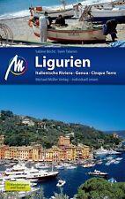 LIGURIEN Italienische Riviera Michael Müller Reiseführer 13 Cinque Terre NEU