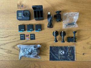 GoPro Hero 8 Black umfangreiches BUNDLE