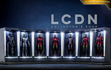 Hot Toys MMSC005-12 Iron Man 3 Hall of Armor Miniature Set of 7 Figures 12cm
