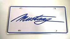 LICENSE PLATE FORD MUSTANG